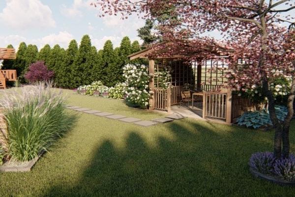 Sekwoja Garden projektowanie zieleni