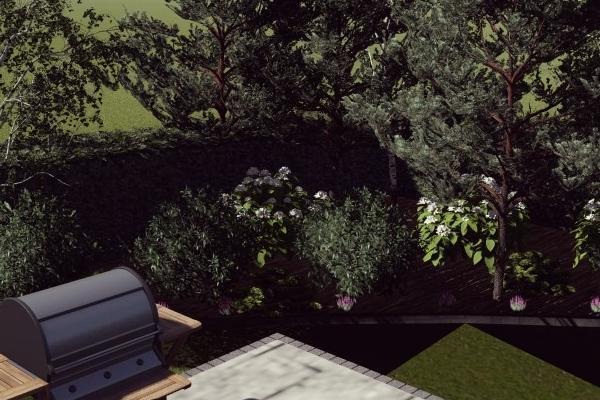 Sekwoja Garden tereny zielone projektowanie