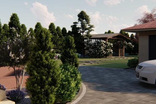 Sekwoja Garden projektowanie terenów zielonych